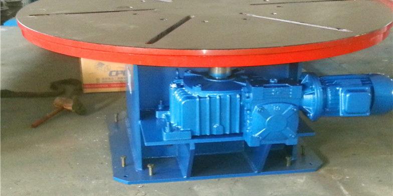plataforma giratória de soldagem
