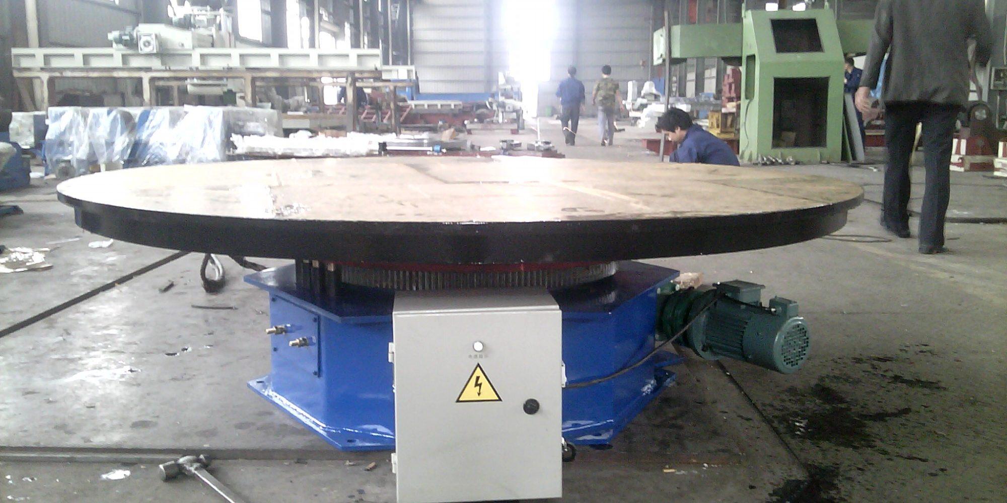 Posicionador de mesa giratória de solda de 5 toneladas