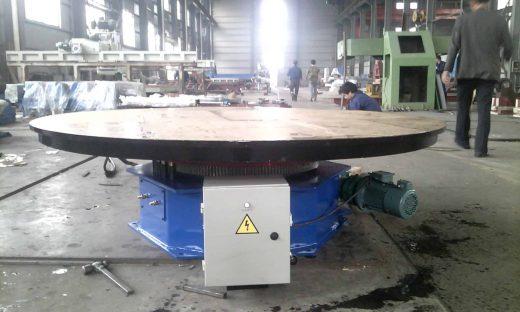 Positionneur de table tournante de soudage 5 tonnes