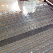 Build up welding wear steel plate