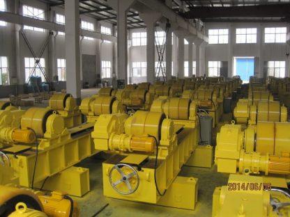Customized 300 Ton manual lead screw type welding rotator