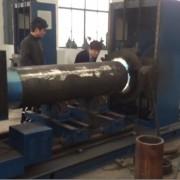 Wear-resisting pipe welding machine video