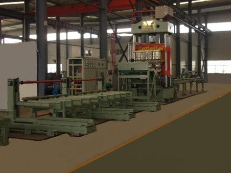 GYH-1600-2D Steel grating welding pressure